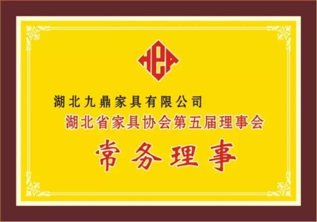 湖北省雷竞技入口协会第五届理事会常务理事