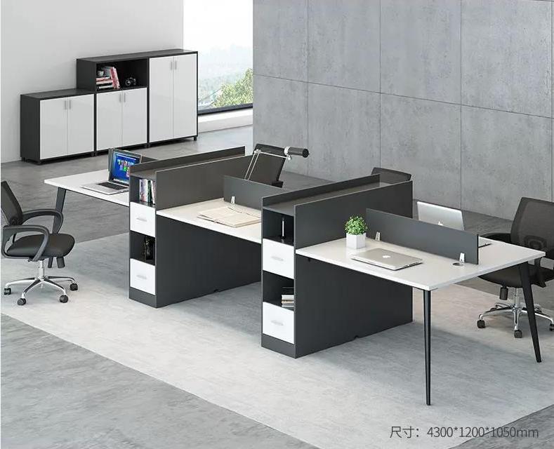现代板式组合工位职员雷竞技官网网址桌椅雷竞技入口