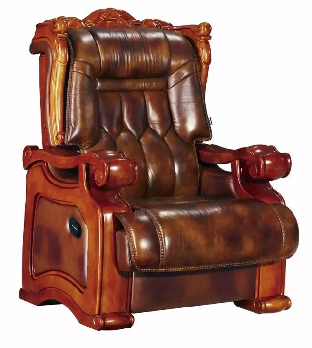 牛皮大班椅-老爷椅-高档雷竞技官网网址椅